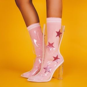 Accessories - Sublime Thigh Highs   Pink
